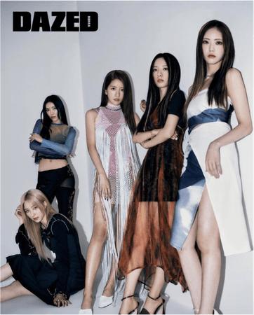 KRUSH Dazed Korea Photoshoot May 2021 Issue