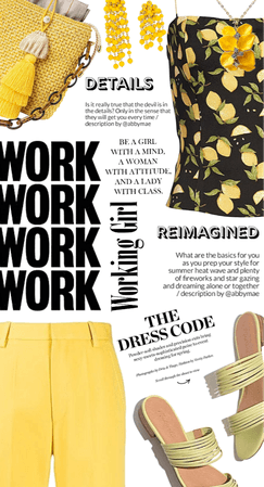 Get The Look: Summer Work Style