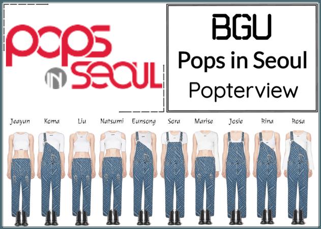 BGU Pops in Seoul