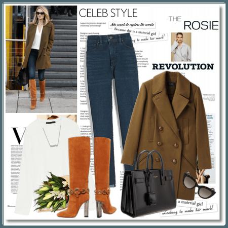 Celeb Inspiration: Rosie Huntington-Whiteley