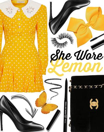 FALL 2020: She Wore Lemon