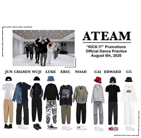 "ATeam ""Kick It"" Official Dance Practice"