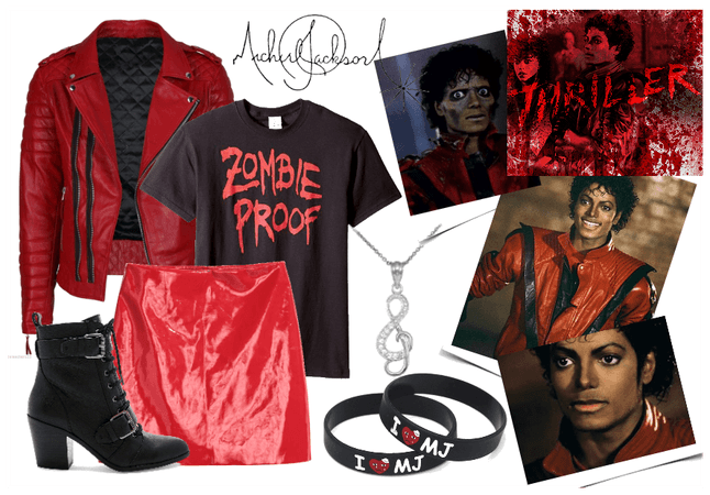 Michael Jackson's Thriller Inspired Outfit