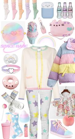 pastel space bb