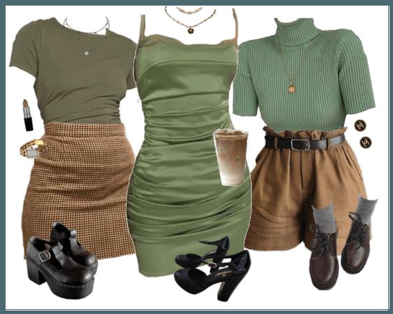 matcha green lookbook