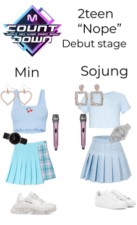2teen debut stage