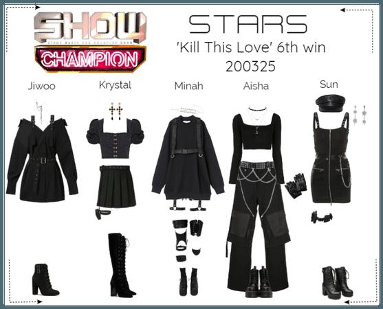STARS | Show Champion | Kill This Love 6th win