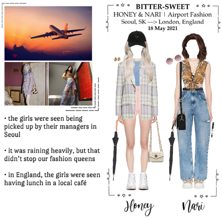 BITTER-SWEET 비터스윗 (HONEY & NARI) Airport Fashion