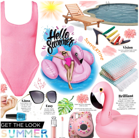 Get The Look: Summer| lounging by the pool