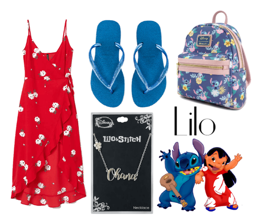 Lilo (Lilo & Stitch) - Disneybound