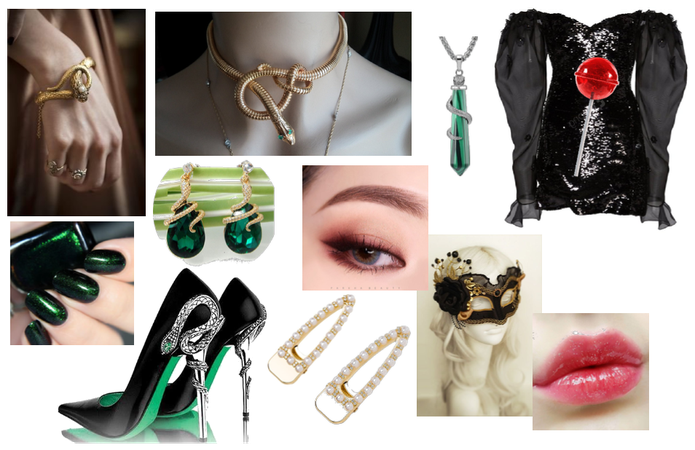 Slytherin Yule Ball Outfit.