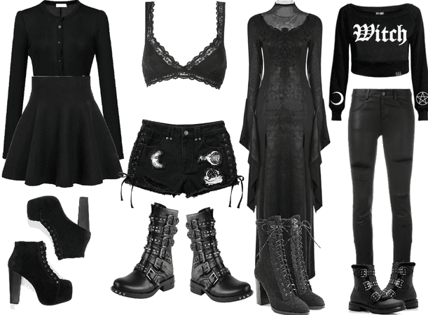 Goth? Outfits