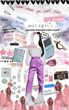 Aquarius girl 🪐