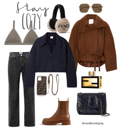 Winter with Fendi