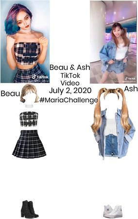 DI-VERSE Beau And Ash Maria Challenge TikTok
