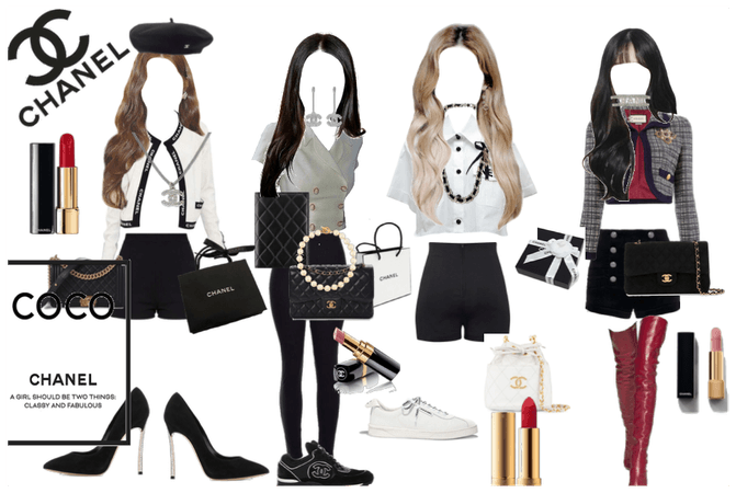 BLACKPINK CHANEL OUTFITS
