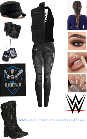 WWE Jade Frost's The SHIELD Outfit #3