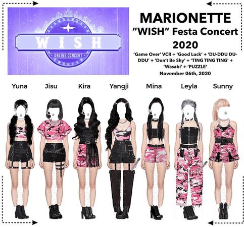 MARIONETTE (마리오네트) 'WISH' Festa Online Concert 2020 | ❝𝐖 𝐈 𝐒 𝐇❞ - FESTA 2020