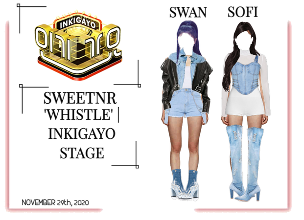 ~SWTNR~ 'WHISTLE' | INKIGAYO STAGE