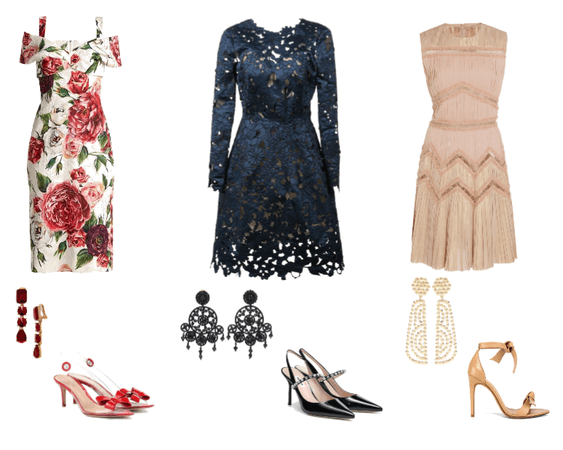 Cocktail Wedding Outfit