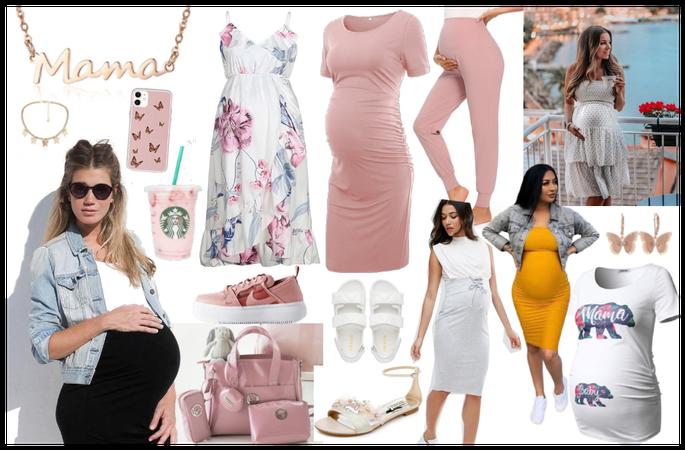 Embarazada Delgada