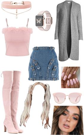 pink/grey 💒📽