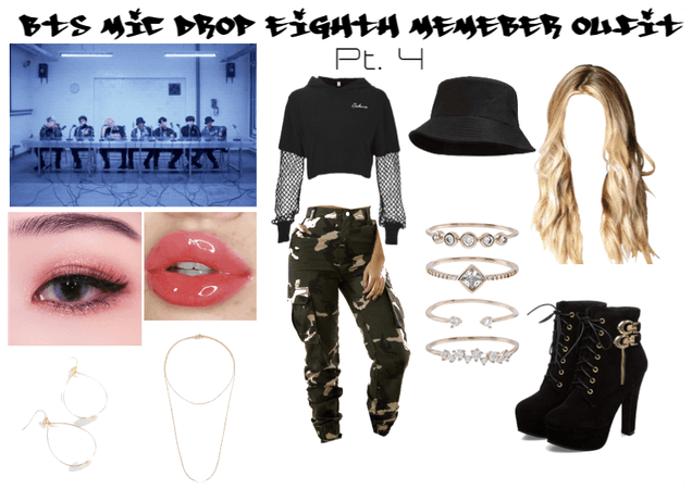 BTS Mic Drop Eighth Member Outfit Pt. 4