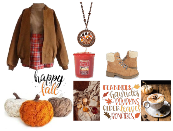 Autumn aesthetic outfit