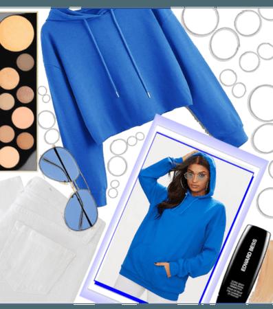 Blue hoodie -Simple- *challenge*