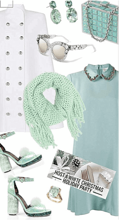 Mint Holiday Party Design