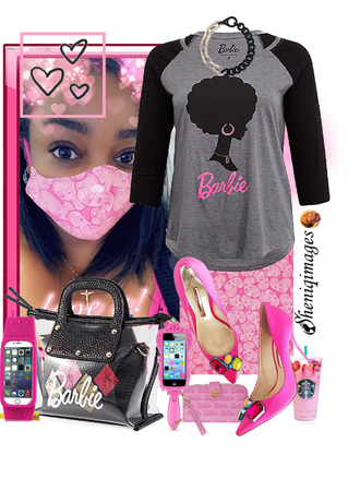 Barbie Facemask by Sheniq