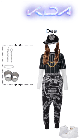 """Dee's Clothes """"BLADES"""" Wide view"""