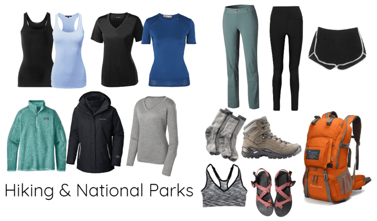 Minimalist National Parks Packing List