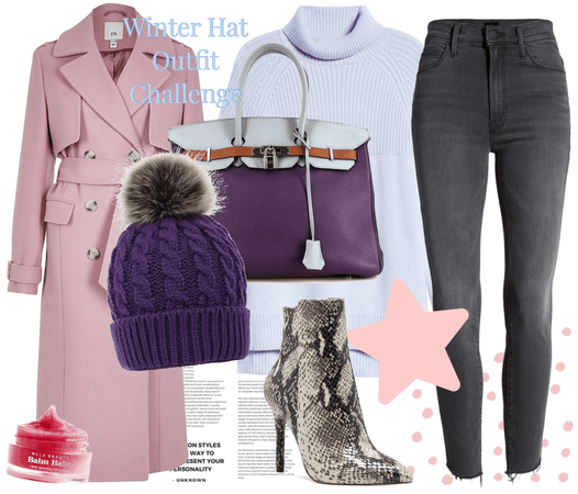 Winter Hat Outfit Challenge