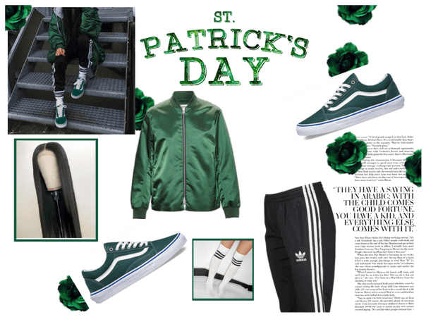 #Go green/ #Challenge/ #Happy st. Patricks Day