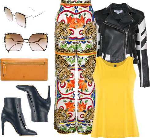 Motorcycle Weekend Getaway Outfit