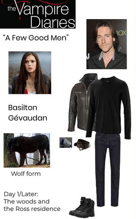 "The Vampire Diaries: ""A Few Good Men"" (S1E15) - Basilton Gévaudan"