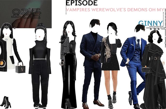 FAIRYTALE EPISODE 7: VAMPIRES DEMONS WEREWOLVE'S OH MY! | GINNY & CONSTIAN SCENES