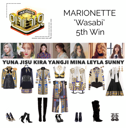 {MARIONETTE} Inkigayo Stage 'Wasabi'