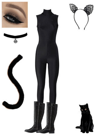 DIY Black Cat