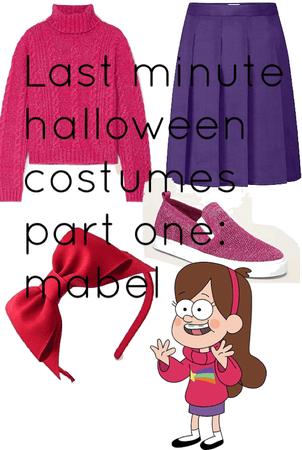 last minute Halloween costume pt. 1: Mabel gravity falls