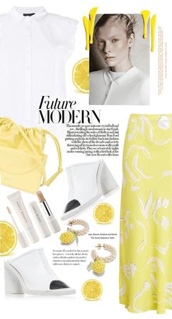 lemon + white