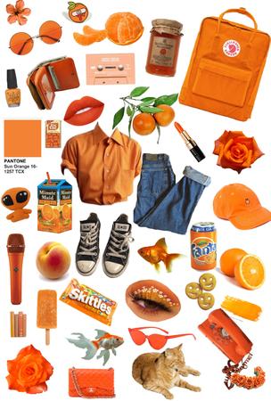 orange mood 🍊
