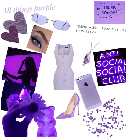 Light purple outfit💜