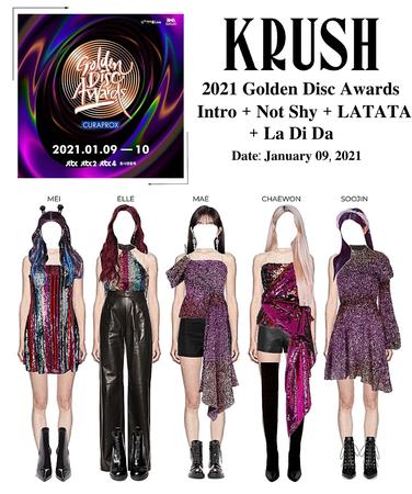 KRUSH Golden Disk Awards Performance