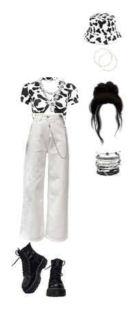 cow aesthetic casual outfit