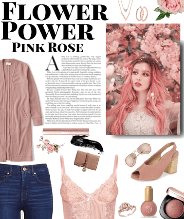 Flower power: pink roses