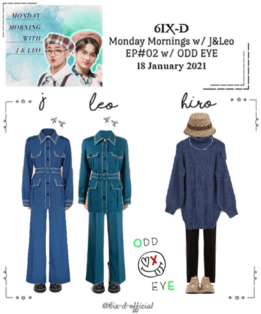 6IX-D [식스디] Monday Mornings with J & Leo 210118