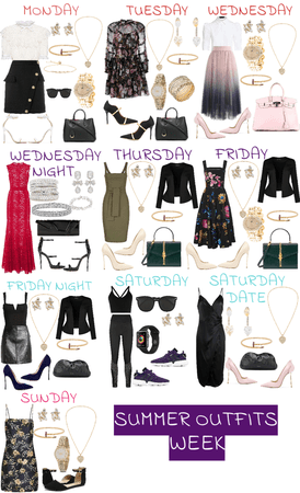 Week of Work Outfits