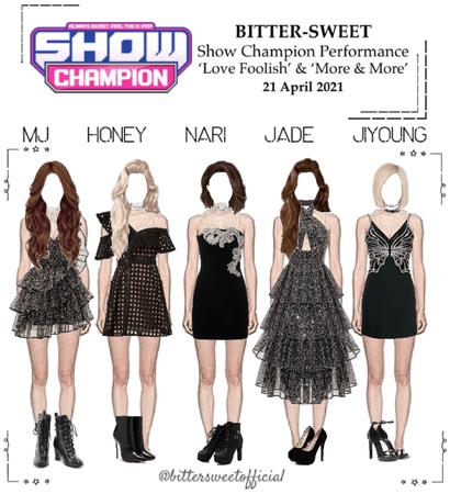 BITTER-SWEET 비터스윗 Show Champion